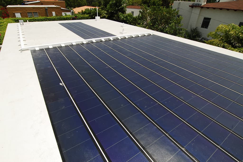 Roll Out Solar Panels