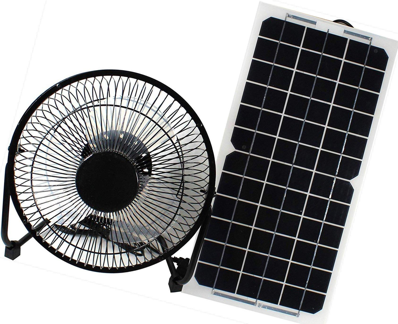 solar panel powered fan ventilator for rv by goodsoz