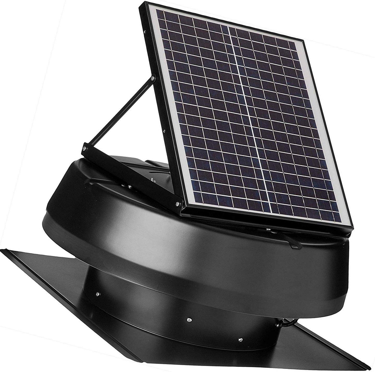 solar roof attic exhaust fan by iliving