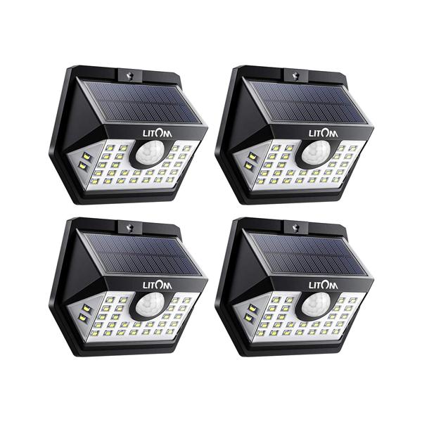 litom solar outdoor lights