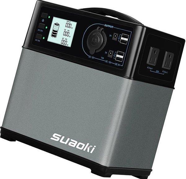 suaoki 400wh/120,000mah portable generator power
