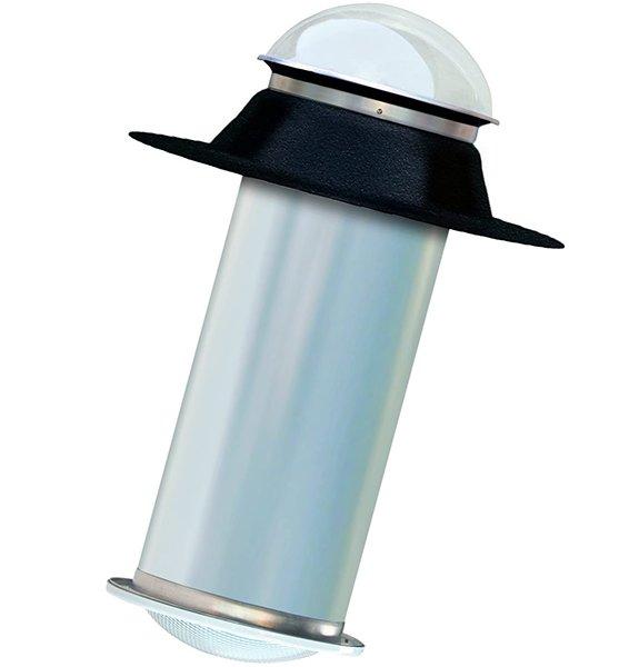 10 inch tubular skylight kit for flat roof - solar tube