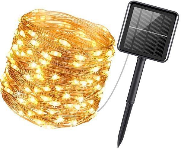 amir upgraded solar powered string lights - solar powered string lights