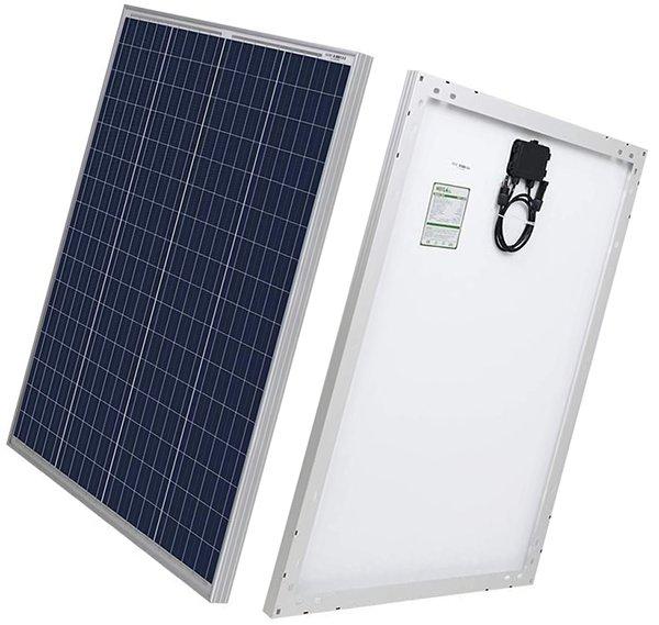 hqst 100 watt 12 volt polycrystalline solar panel - rv solar panels