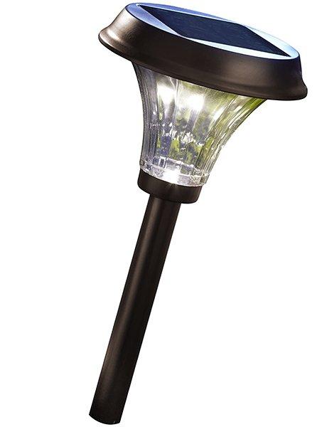 moonrays 91754 richmond solar metal path - solar path lights