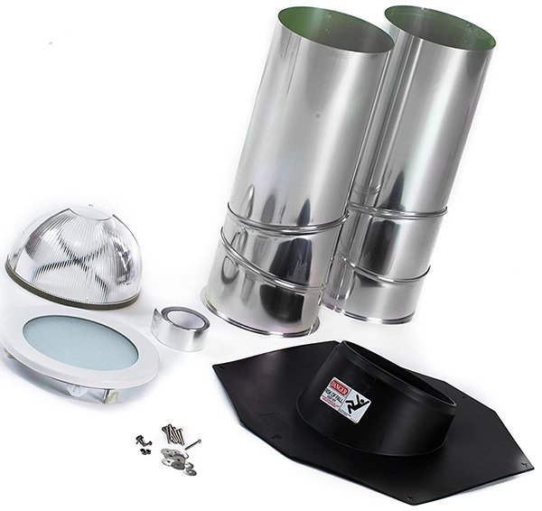 odl tubular skylight kit - solar tube