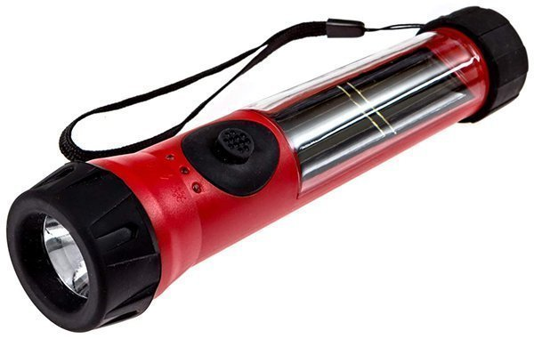 sos solarlight solar flashlight - solar flashlight