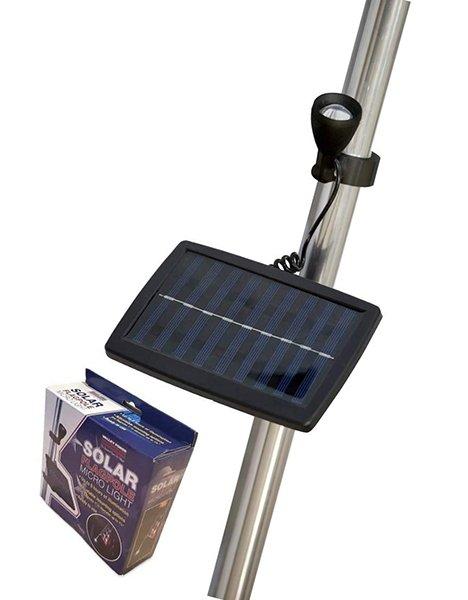 valley forge flag micro solar light - solar flagpole light