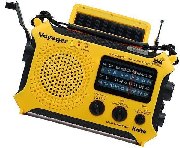 kaito ka500 5-way powered solar power - solar powered radio