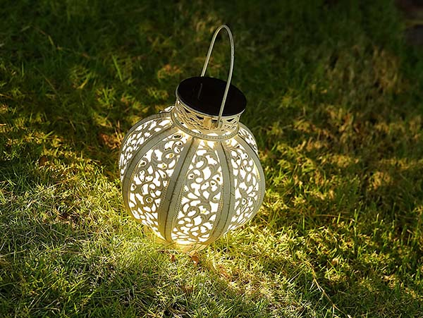 maggift 2 pack hanging solar lights outdoor - solar lanterns outdoors