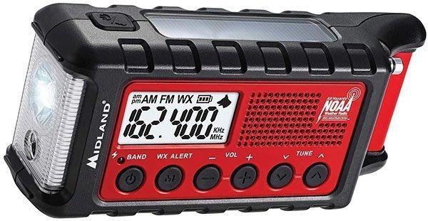 midland - er310, emergency crank weather am/fm radio - solar powered radio