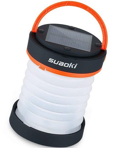 suaoki led camping lanterns for lighting - solar camping lights