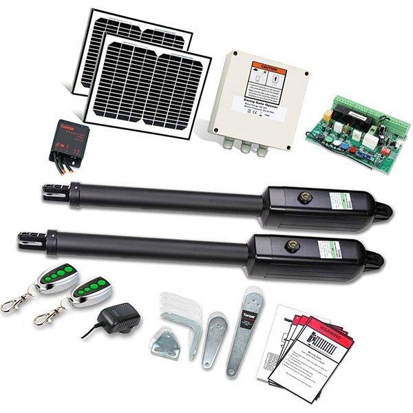 topens ad5s automatic solar gate opener kit - solar gate opener