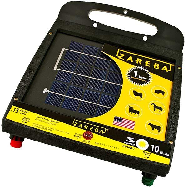 zareba esp10m-z 10-mile - solar fence charger
