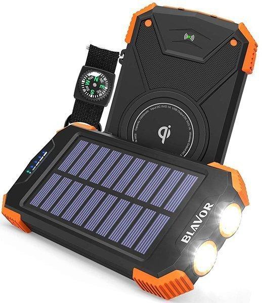 blavor qi portable charger 10000 mAh - solar power banks