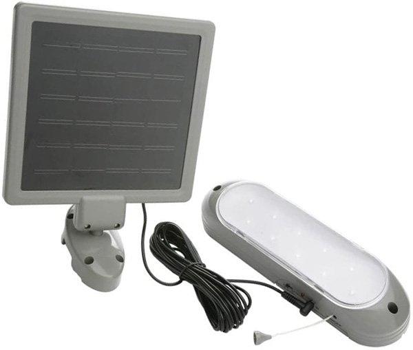 designers edge l-949 rechargeable solar shed lights - solar shed lights
