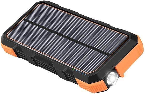 hiluckey solar charger 26800 mah - solar power banks