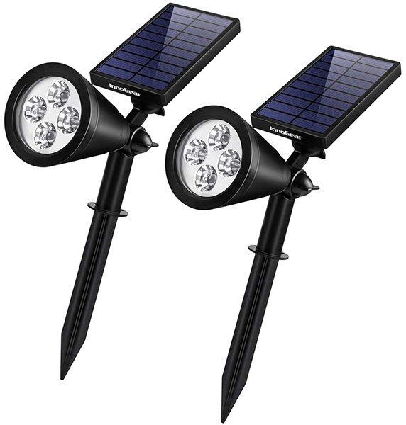 innogear solar lights outdoor - solar spot lights