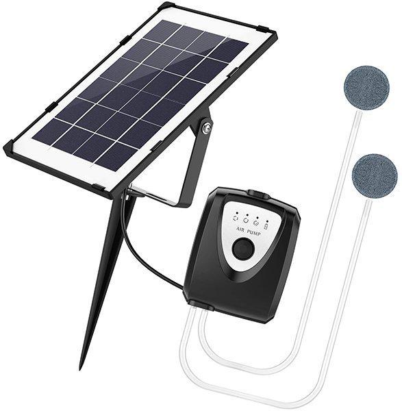 iyeho solar water air pump fish tank oxygenator - solar pump