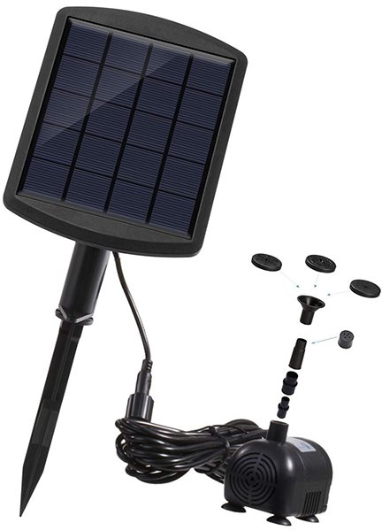 lewisia 1.8W solar water fountain pump - solar pump