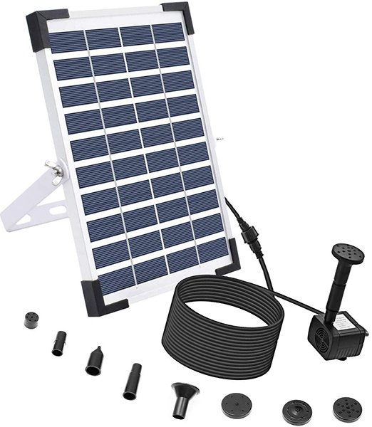 lewisia 5w solar fountain pump - solar pump