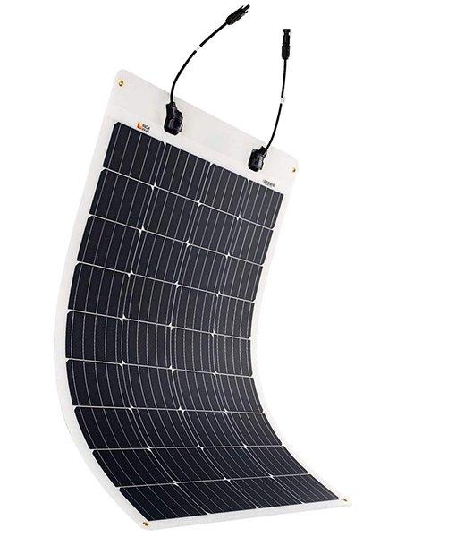 rich solar 100 watt 12 volt extremely etfe flexible monocrystalline solar panel - best flexible solar panels