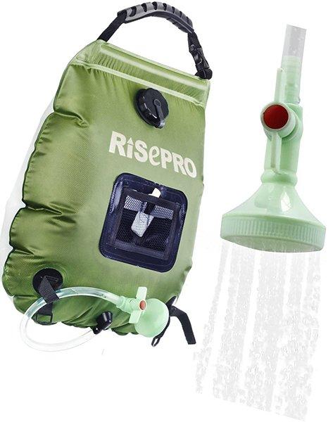 risepro solar shower bag - solar shower