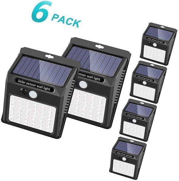 sezac solar security lights solar motion sensor lights - solar motion light