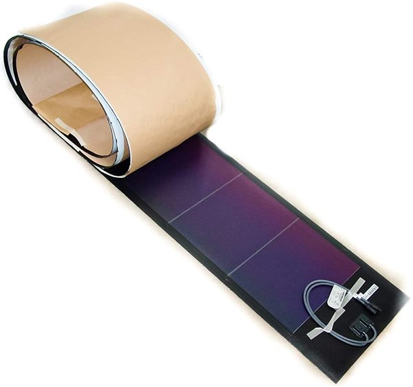 unisolar 128 watt flexible solar panel pv laminate - best flexible solar panels