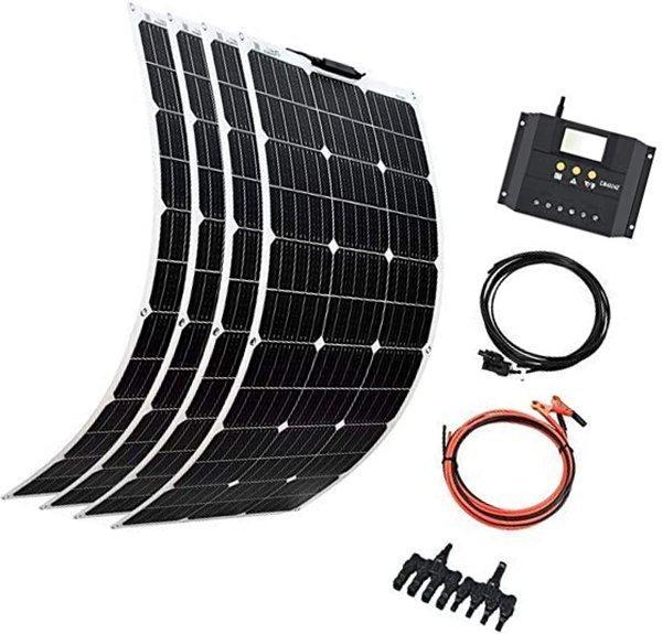 xinpuguang solar panel 4pcs 100w 12v 400w flexible system - best flexible solar panels