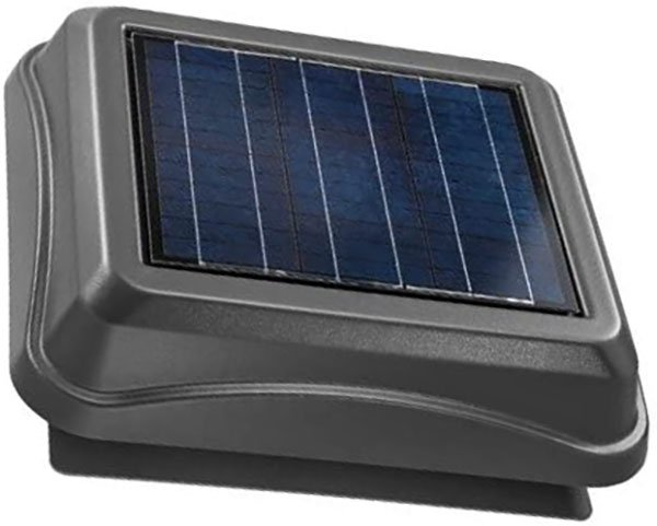 broan-nutone 345soww surface mount solar-powered attic ventilator - solar attic fan