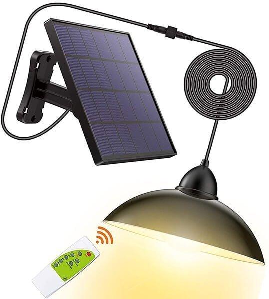 lozayi security powered pendant led solar light - indoor solar lights