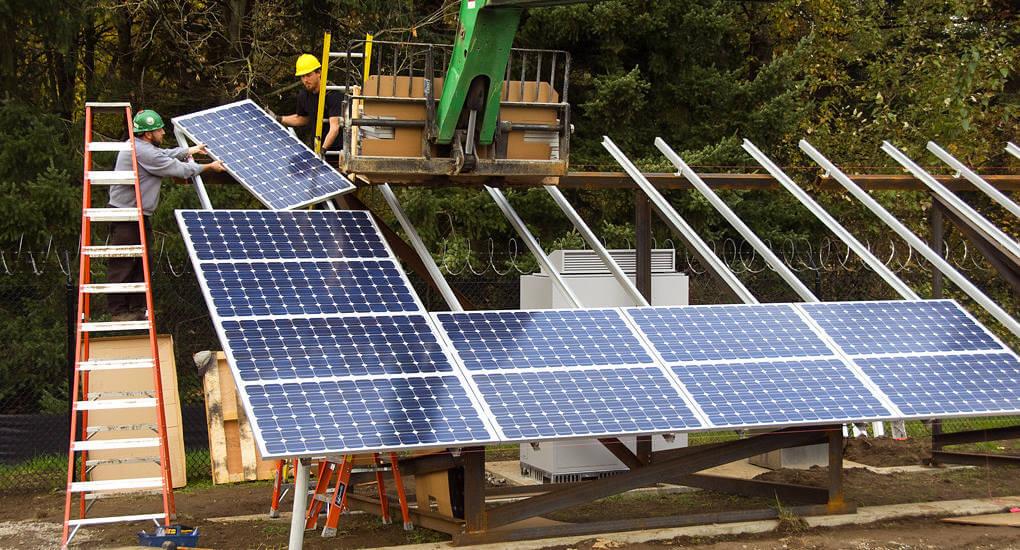 photoelectric effect solar panels