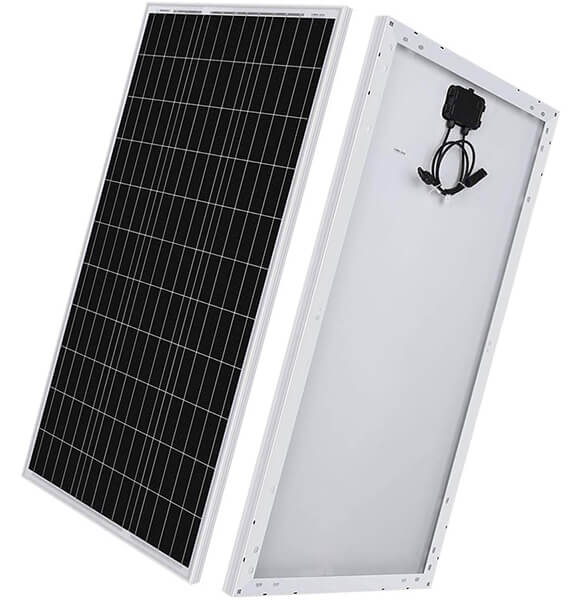 renogy 100 watt 12 volt monocrystalline solar panel - cheap solar panels