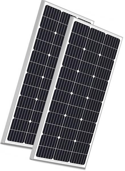 solperk 200w solar panels 12V monocrystalline solar panel kit - solar panels for shed