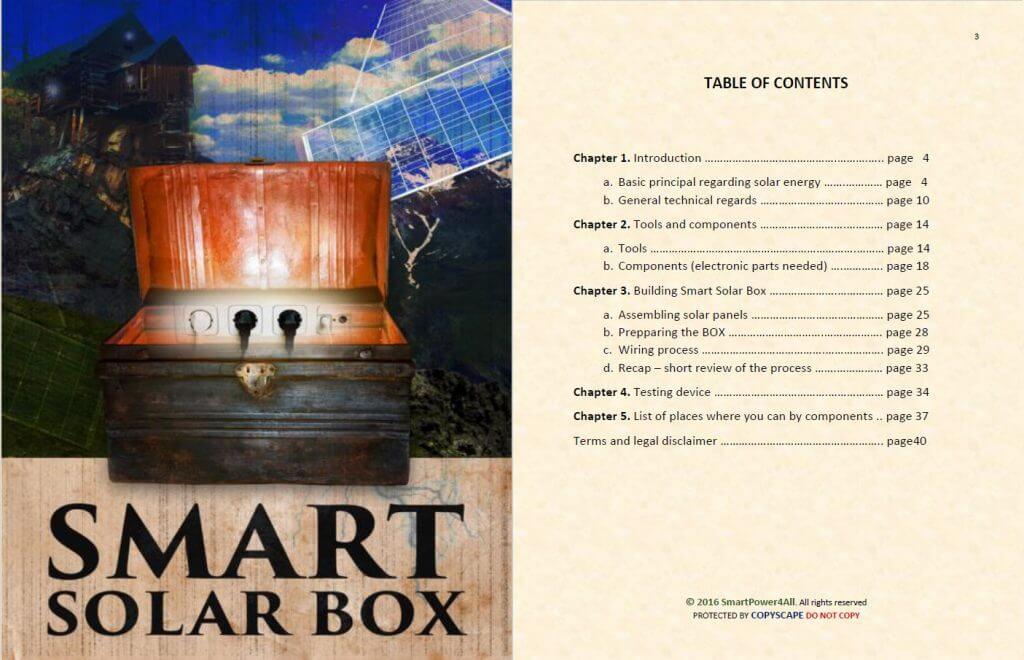 smart solar box contents - smart solar box