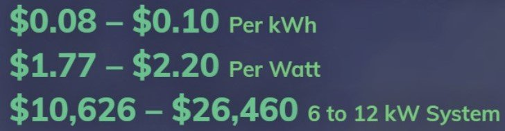 average solar panel installation costs - how much do solar panels cost?